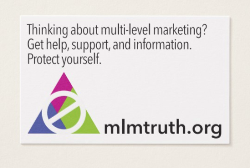 MLM Truth Business Card
