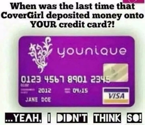 credit card i dont think so