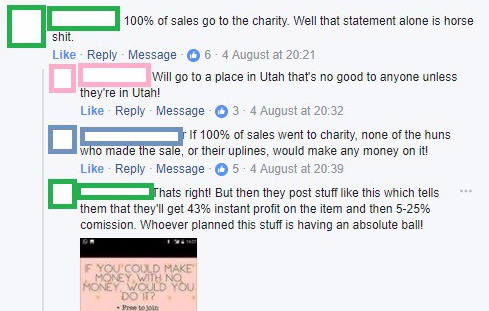 EDITED Facebook Discussion Defend Innocence Bundle 100% goes to charity