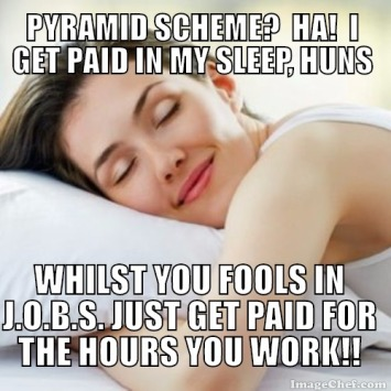 i get paid whilst im asleep