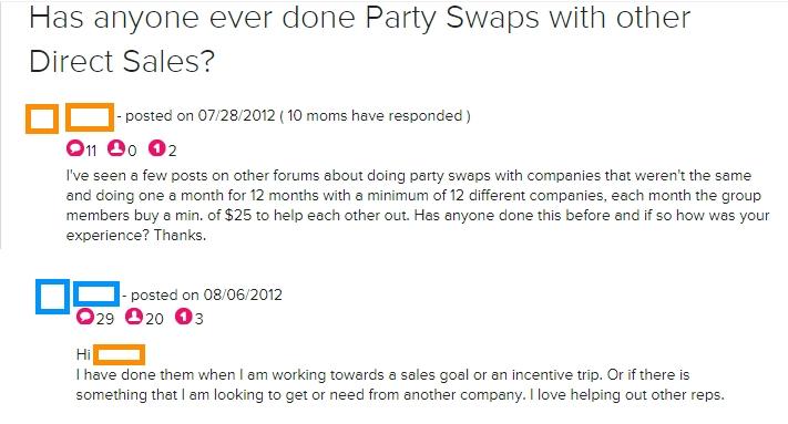 Party Swaps