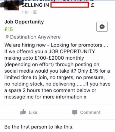 Job Opp Again!!