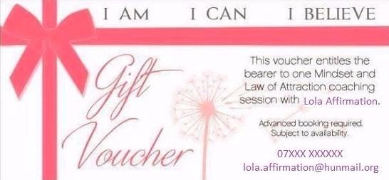 Lola Gift Voucher