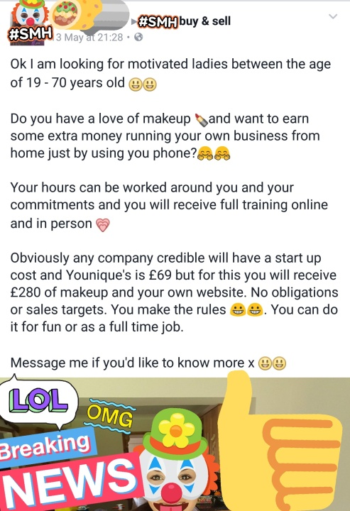 LOOKING FOR MOTIVATED LADIES