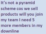 mlmbingo not a pyramid scheme