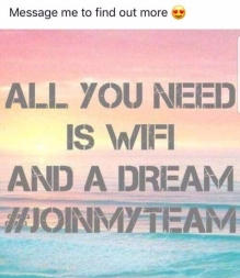 wifi and a dream