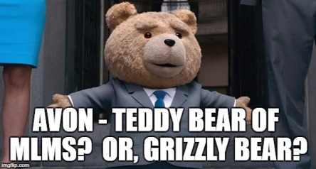Avon Teddy Bear