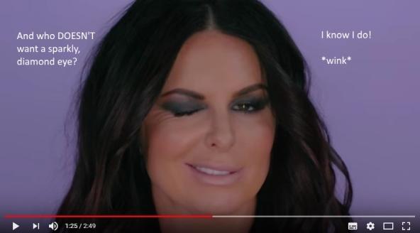 Corporate YouTube Video Still Creepy Wink