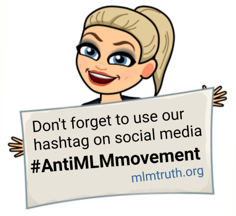 Hashtag Anti MLM Movement