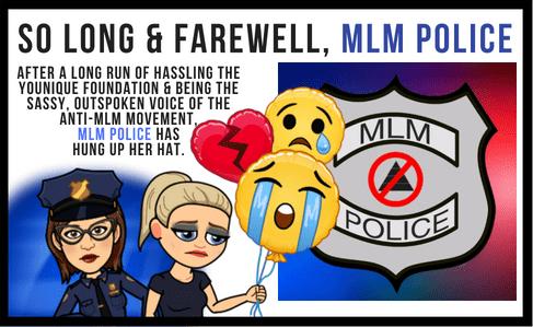 Adios MLM Police